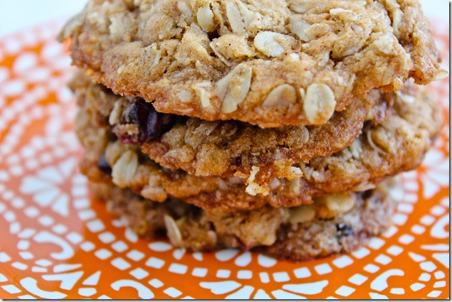 Healthy Oatmeal Walnut Cookies  Oatmeal Walnut and Cranberry Cookies – Healthy Coconut