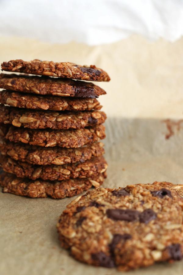 Healthy Oatmeal Walnut Cookies  Healthy Banana Walnut and Oat Cookies Nirvana Cakery