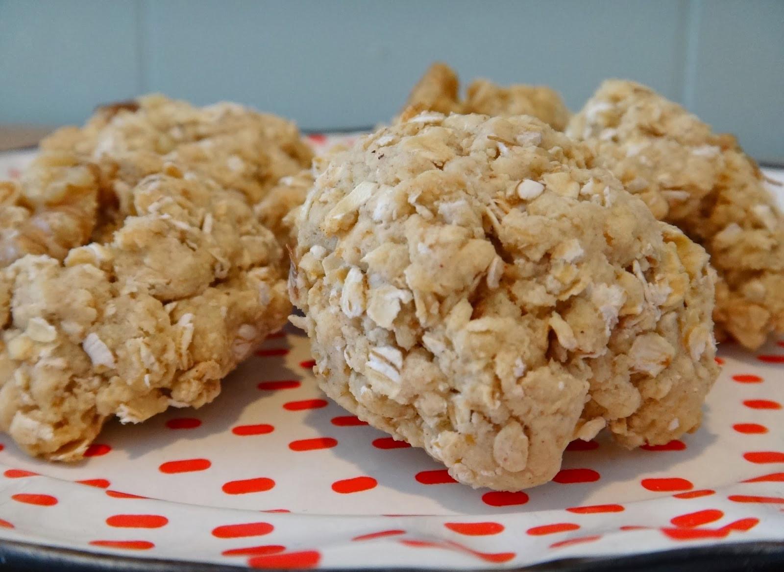 Healthy Oatmeal Walnut Cookies  Healthy Banana Walnut Oatmeal Cookies
