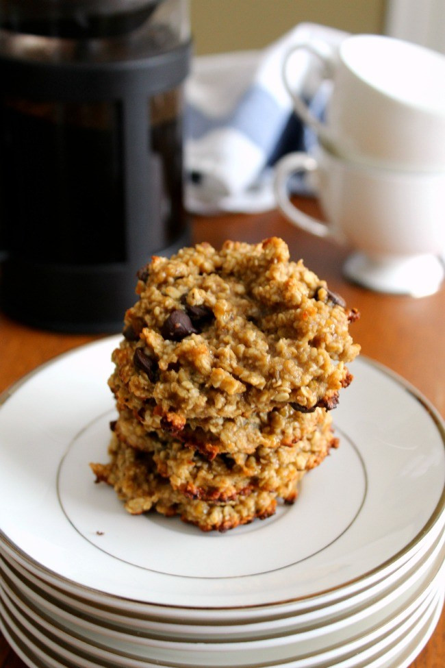 Healthy Oatmeal Walnut Cookies  Healthy Oat Banana Chocolate Chip Cookies The Best of