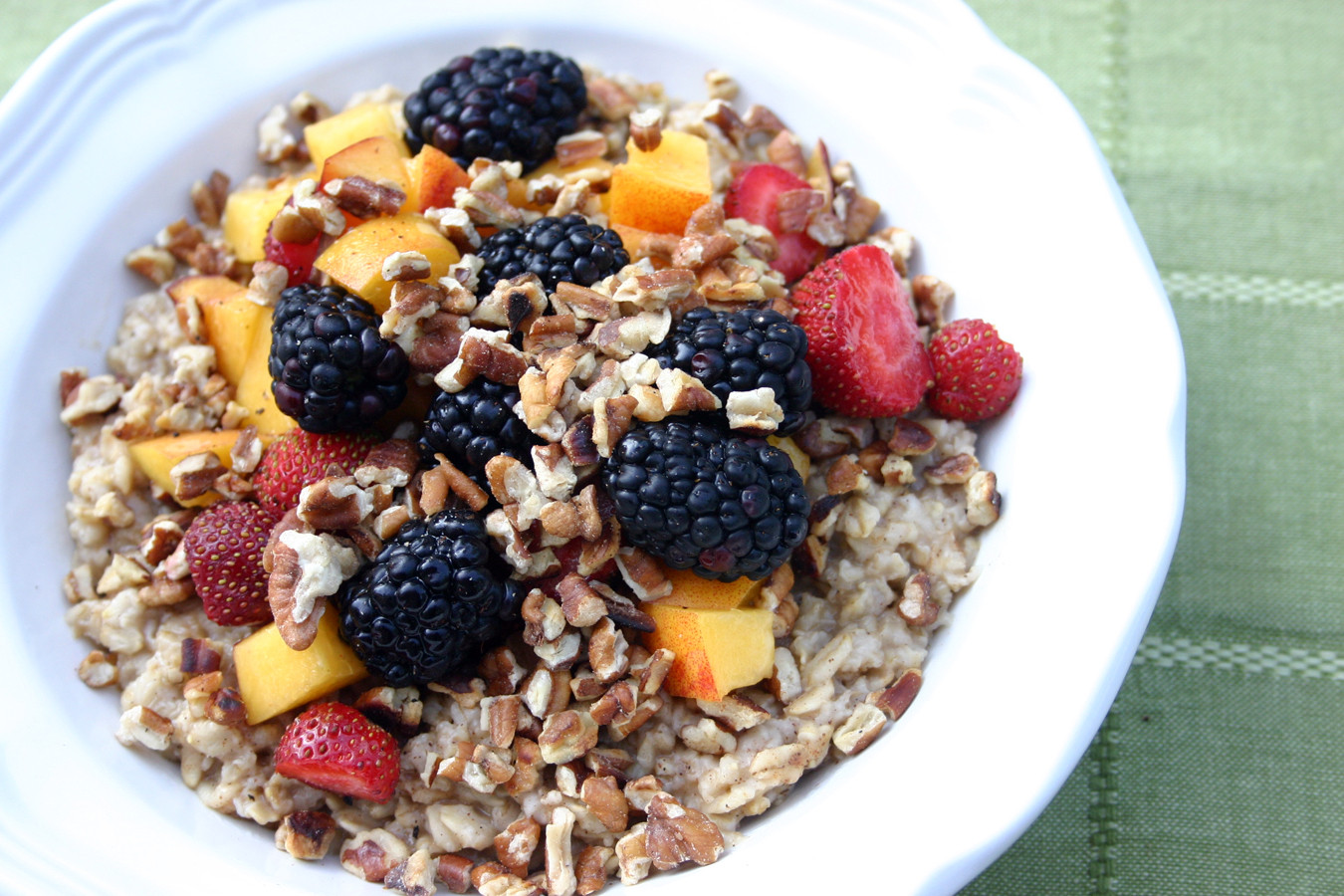 Healthy Oats Breakfast  Balanced Weekend Breakfasts Yum