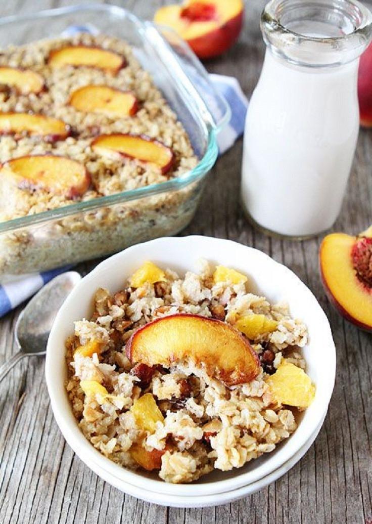 Healthy Oats Breakfast Recipes  Top 10 Healthy Oatmeal Breakfasts Top Inspired