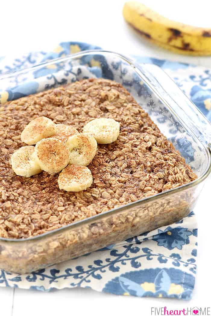 Healthy Oats Breakfast Recipes  Banana Bread Baked Oatmeal