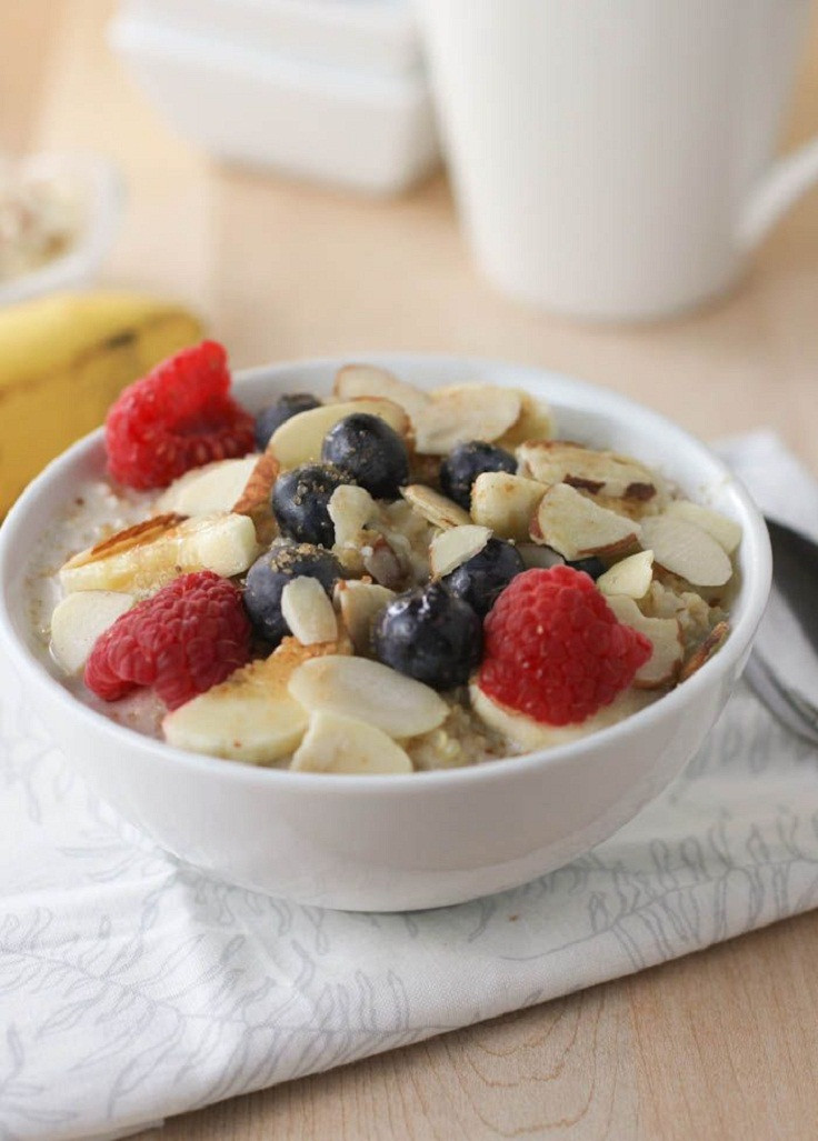 Healthy Oats Breakfast  Top 10 Healthy Oatmeal Breakfasts Top Inspired