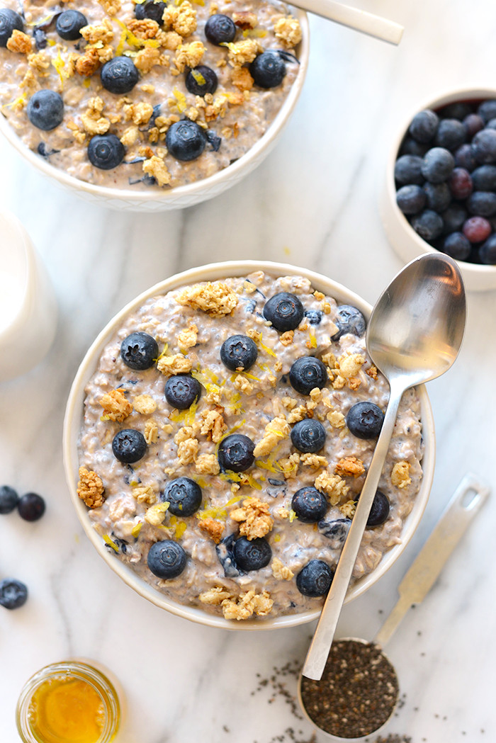 Healthy Oats Breakfast  Overnight Oat Recipes 6 Ways Fit Foo Finds
