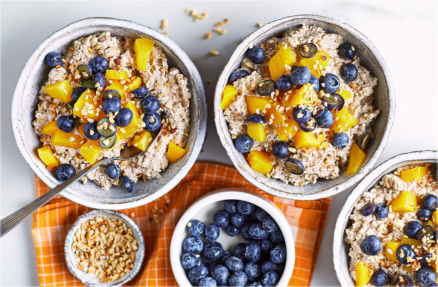 Healthy Oats Breakfast  10 healthy breakfast ideas