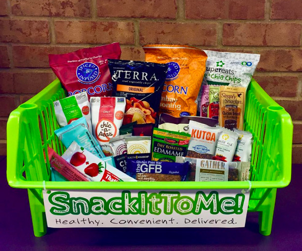 Healthy Office Snacks Delivered  SnackItToMe – Healthy fice Snacks Delivered