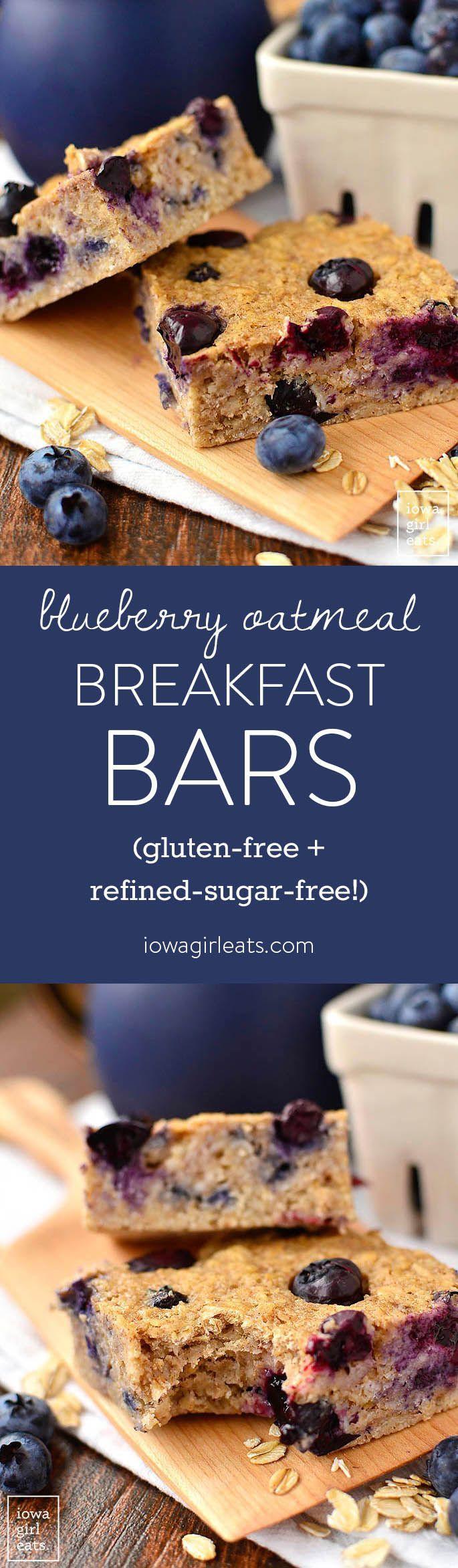 Healthy On The Go Breakfast Bars  17 Best ideas about Healthy Breakfasts on Pinterest