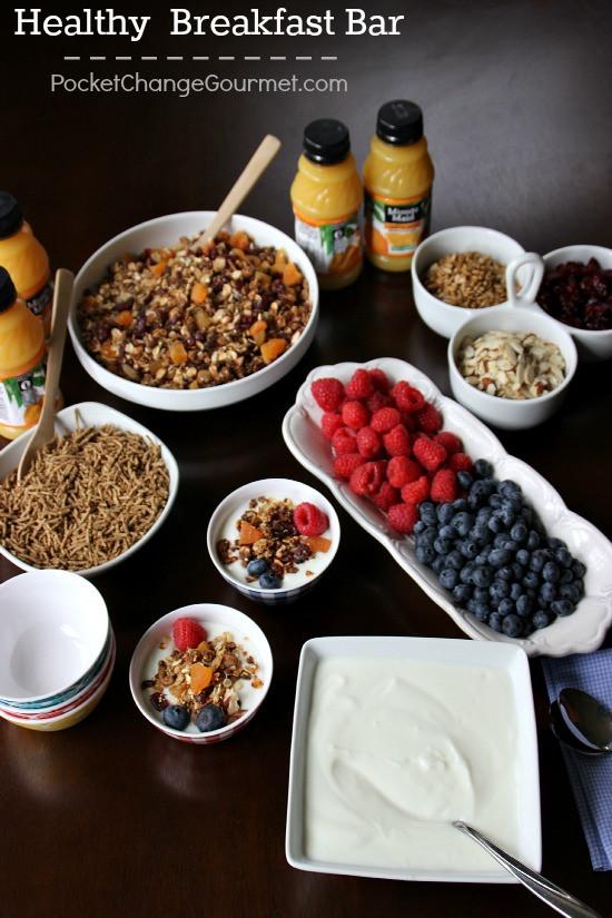 Healthy On The Go Breakfast Bars  Healthy Breakfast Bar Recipe