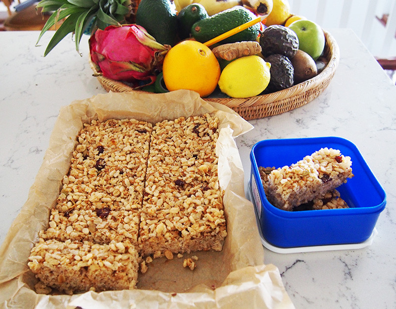 Healthy On The Go Breakfast Bars  Healthy Breakfast Bars refined sugar free for breakfasts