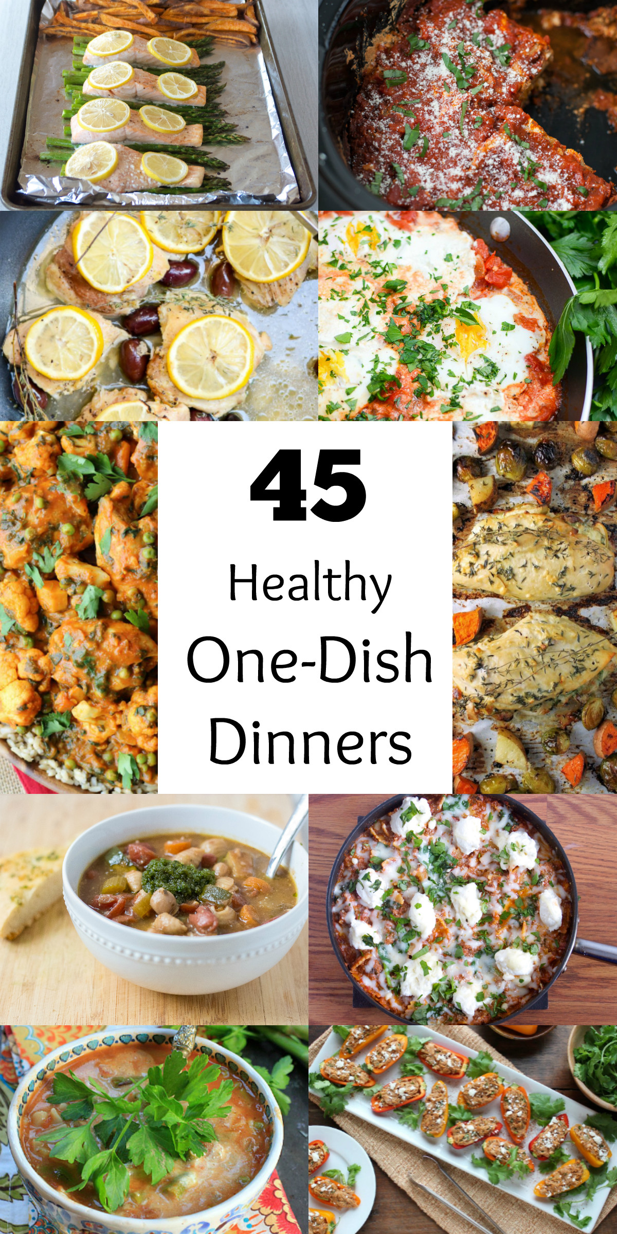 Healthy One Dish Dinners  45 Healthy e Dish Dinners Bite of Health Nutrition