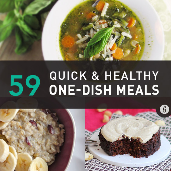 Healthy One Dish Dinners  59 Healthy e Pot Meals