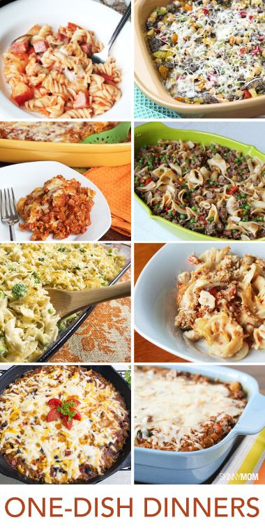 Healthy One Dish Dinners  Casseroles Healthy and Dishes on Pinterest