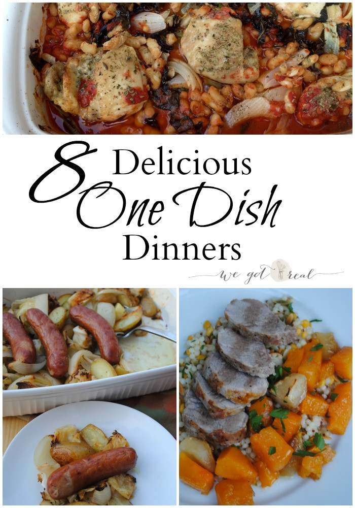 Healthy One Dish Dinners  Eight delicious one dish healthy meals We Got Real