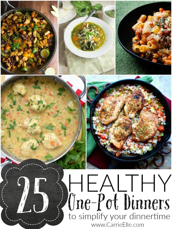 Healthy One Pot Dinners  25 Healthy e Pot Dinners Carrie Elle