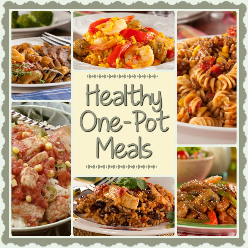Healthy One Pot Dinners  Healthy e Pot Meals 6 Easy Diabetic Dinner Recipes