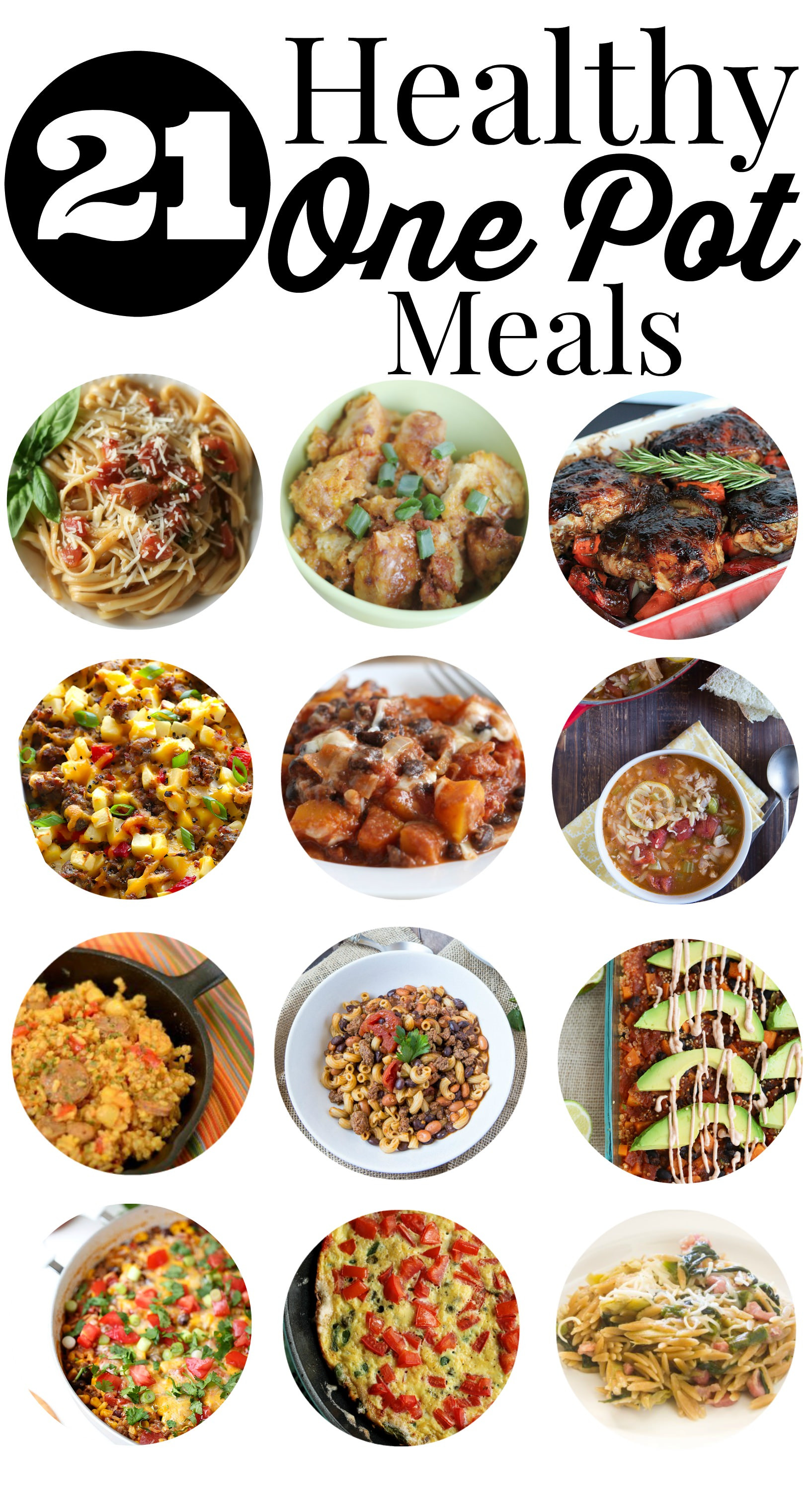 Healthy One Pot Dinners  21 Healthy e Pot Meals