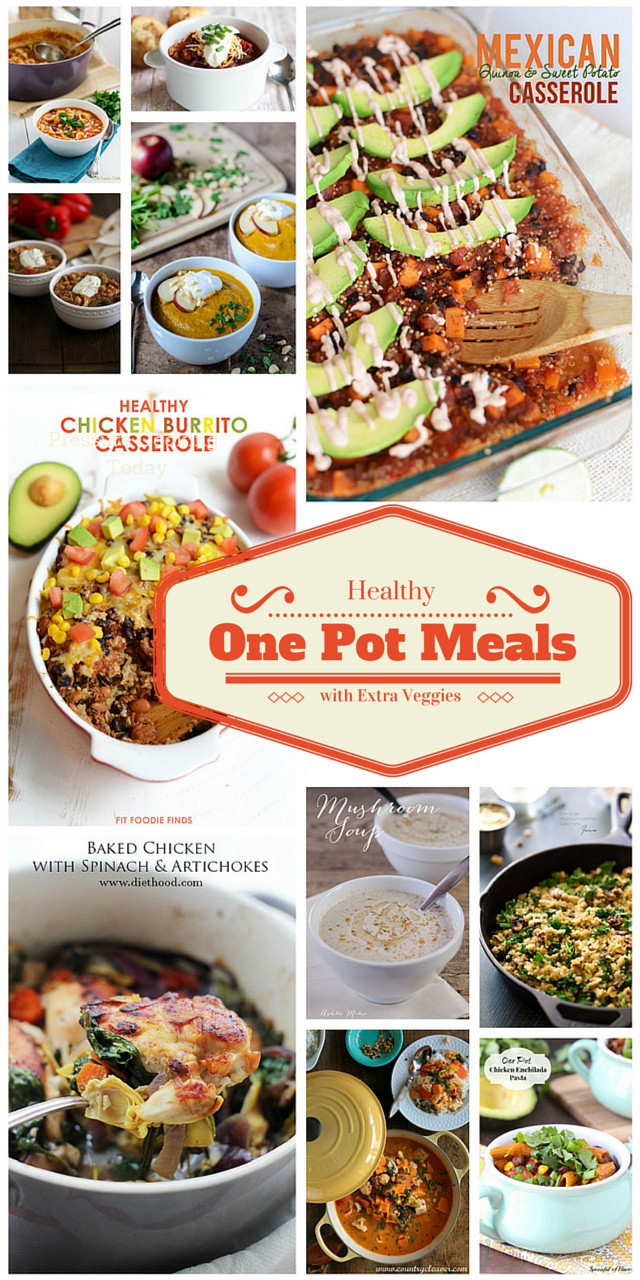 Healthy One Pot Dinners  Healthy e Pot Meals with Extra Veggies Barbara Bakes