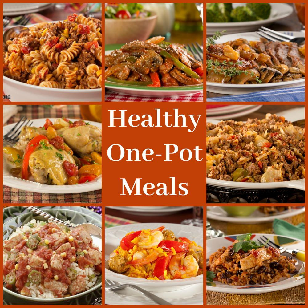 Healthy One Pot Dinners  Healthy e Pot Meals 8 Easy Diabetic Dinner Recipes