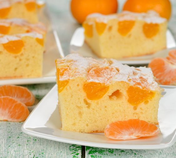 Healthy Orange Dessert Recipes  Quick and easy recipe for Mandarin Orange Cake with few