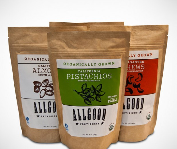 Healthy Organic Snacks  Allgood Provisions Organic Snacks