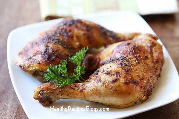 Healthy Oven Baked Chicken Recipes  Crispy Oven Baked Chicken Legs Recipe