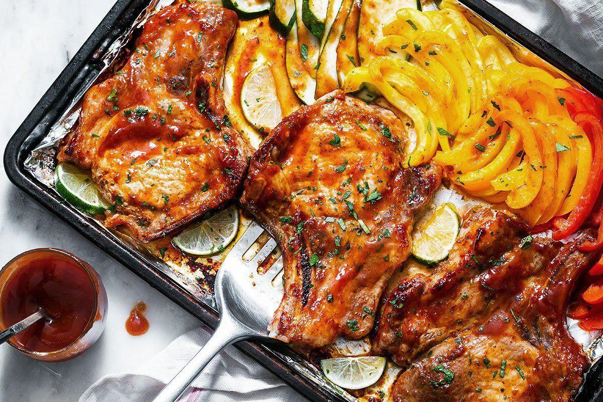 Healthy Oven Baked Pork Chops  Tender Oven Baked Pork Chops Recipe Genius Kitchen