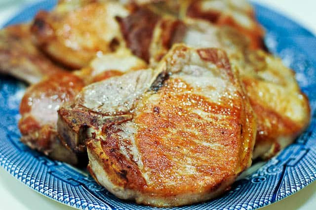 Healthy Oven Baked Pork Chops  Brizoles Hirines A Traditional Greek Pork Chops Recipe