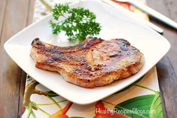 Healthy Oven Baked Pork Chops  Baked Pork Chops Easy and Healthy Recipe VIDEO