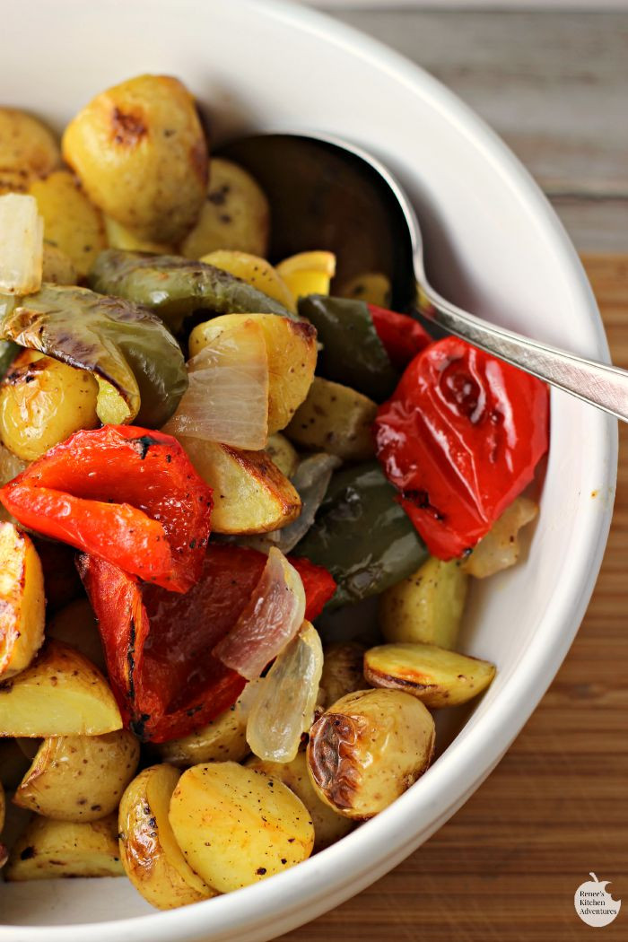 Healthy Oven Roasted Potatoes  Oven Roasted O Brien Potatoes