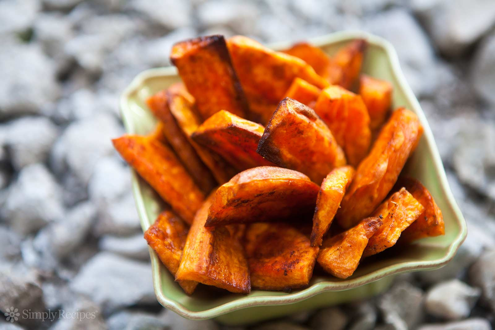 Healthy Oven Roasted Sweet Potatoes  Oven Baked Sweet Potato Fries Recipe