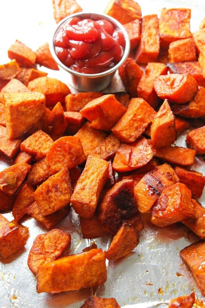 Healthy Oven Roasted Sweet Potatoes  Best 25 Oven roasted sweet potatoes ideas on Pinterest