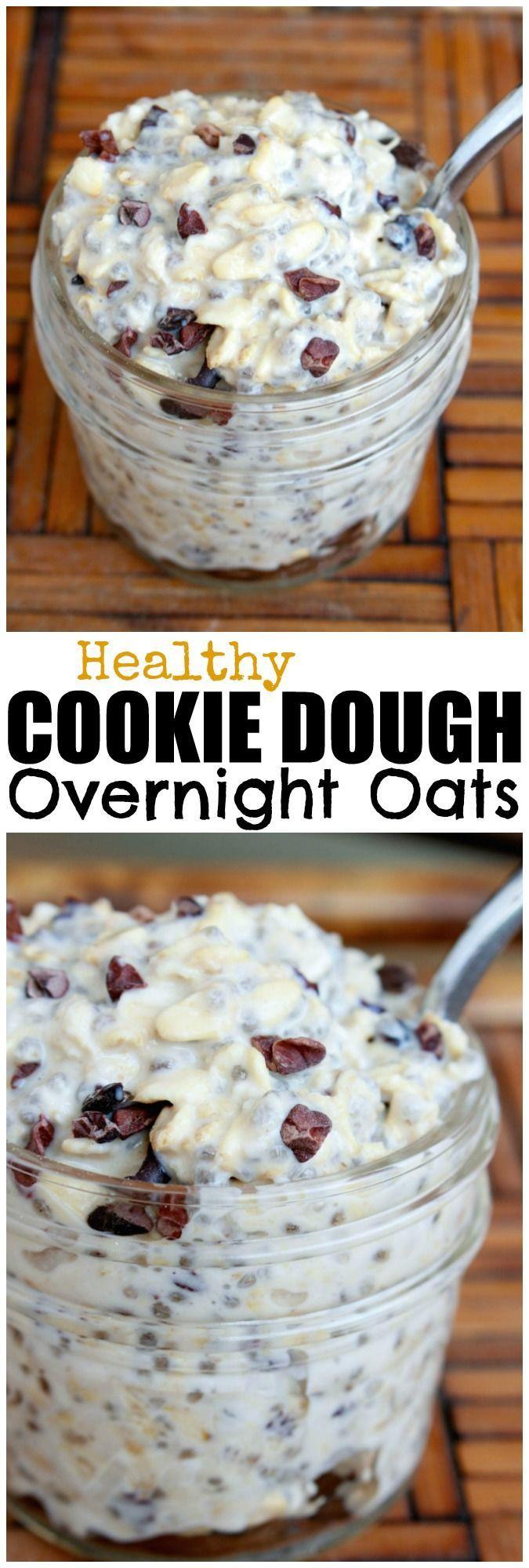 Healthy Overnight Oats Recipes  Best 25 Healthy overnight oats ideas on Pinterest
