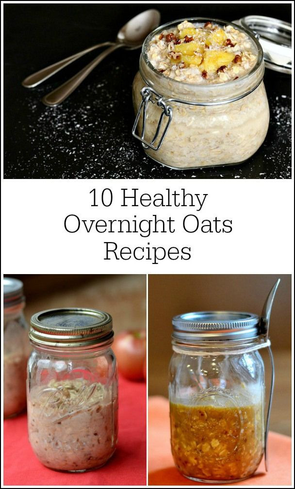 Healthy Overnight Oats Recipes  This roundup of healthy overnight oats recipes will help