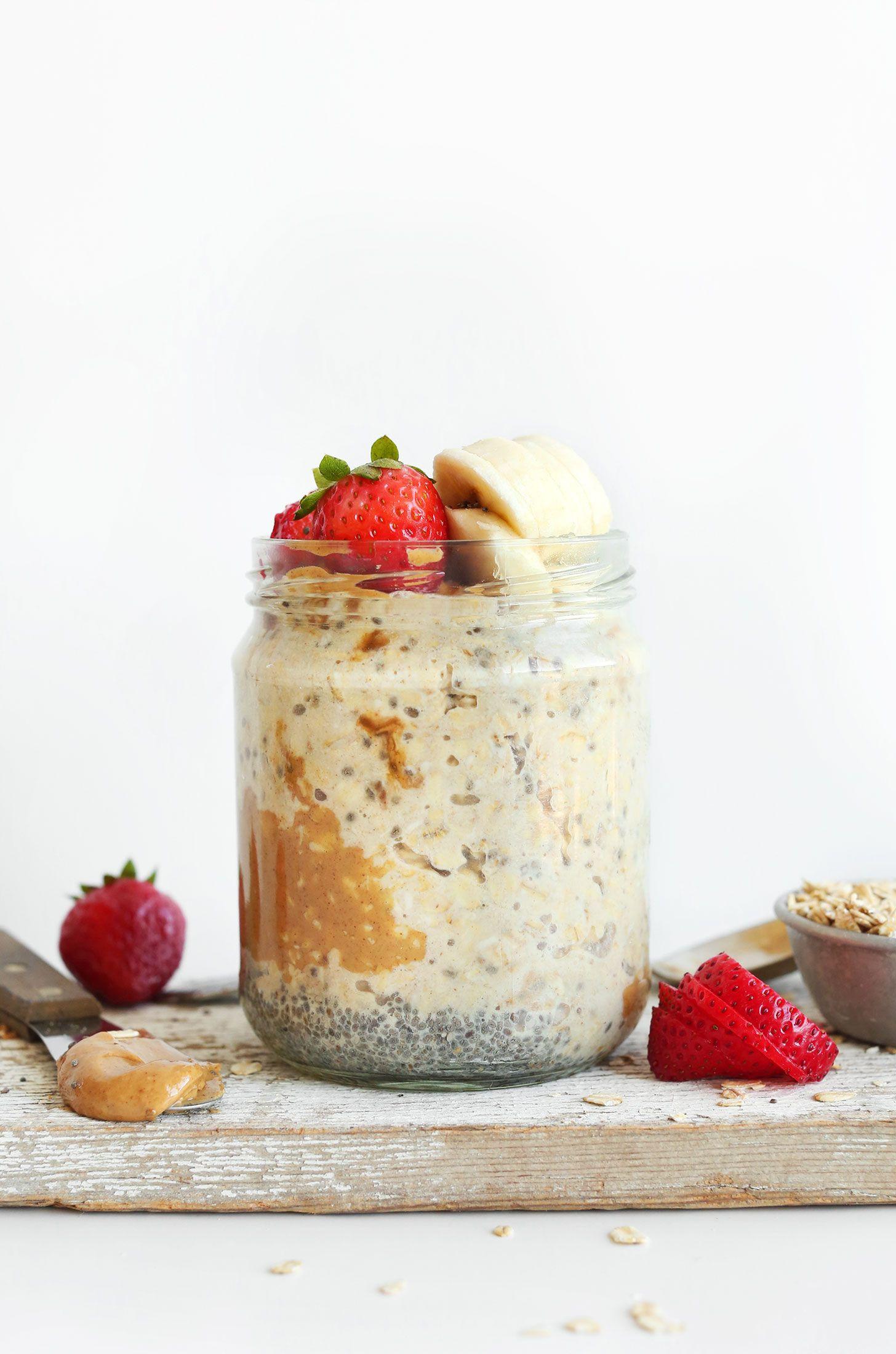 Healthy Overnight Oats  17 Healthy Overnight Oats Recipes Not for Breakfast
