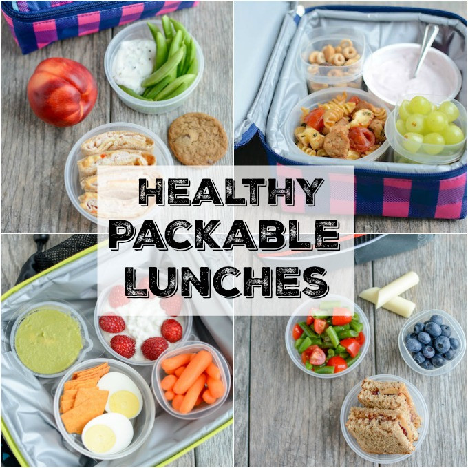 Healthy Packable Lunches  Healthy Packable Lunches For Kids