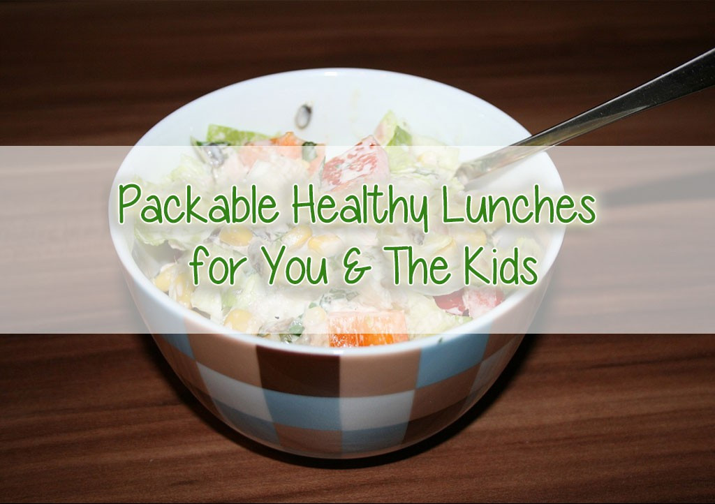 Healthy Packable Lunches  Packable Healthy Lunches For You and The Kids Health