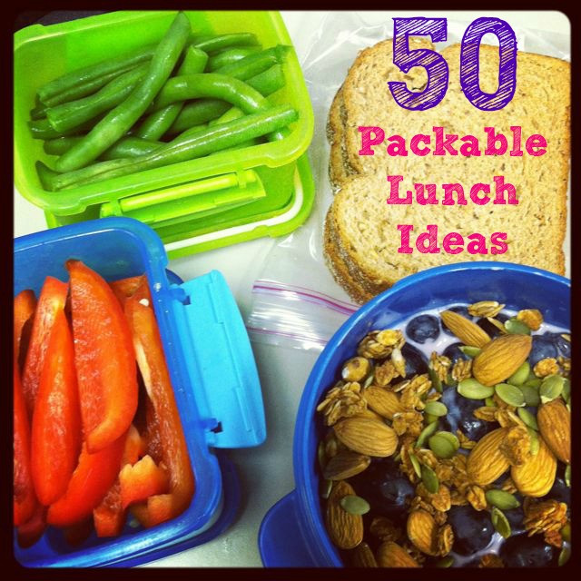 Healthy Packable Lunches  50 Lunch Ideas for Work