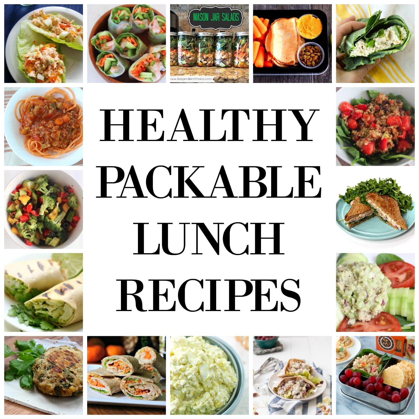 Healthy Packable Lunches  Healthy Packable Lunch Recipes Treble in the Kitchen
