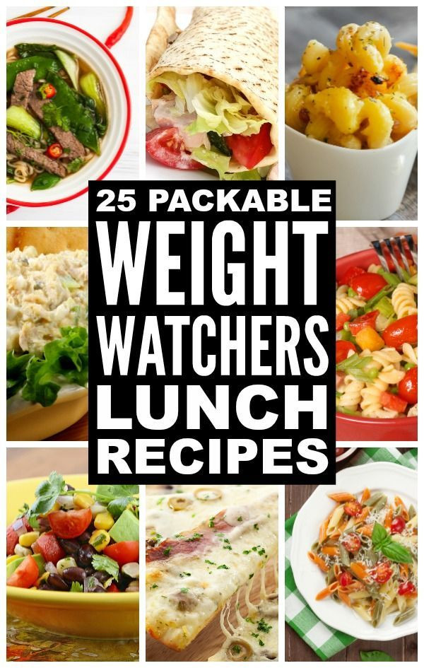 Healthy Packable Lunches  25 Packable Weight Watchers Lunch Recipes with Points