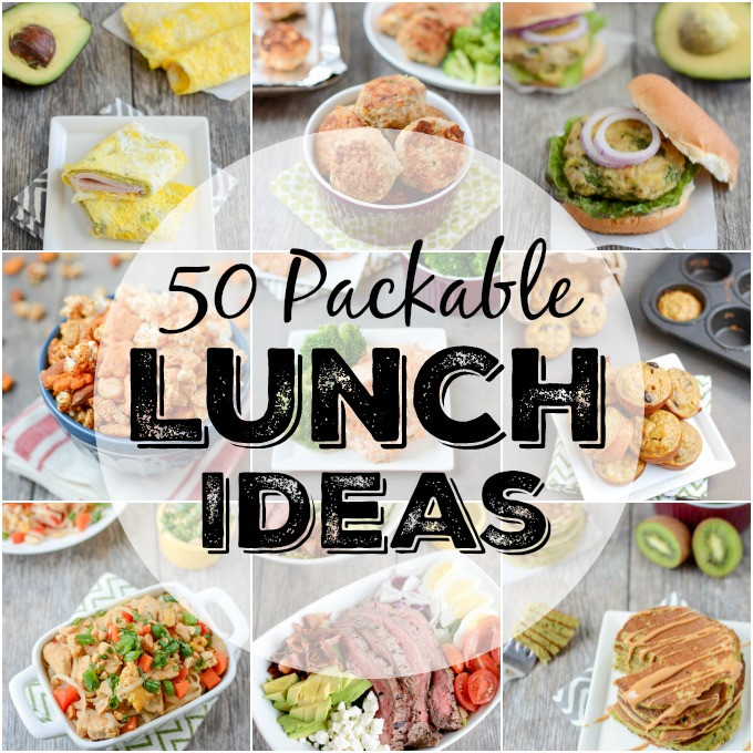 Healthy Packable Lunches  50 Packable Lunch Ideas Lunch Ideas for Work