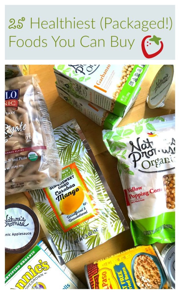 Healthy Packaged Snacks List  25 Healthiest Packaged Foods You Can Buy Super