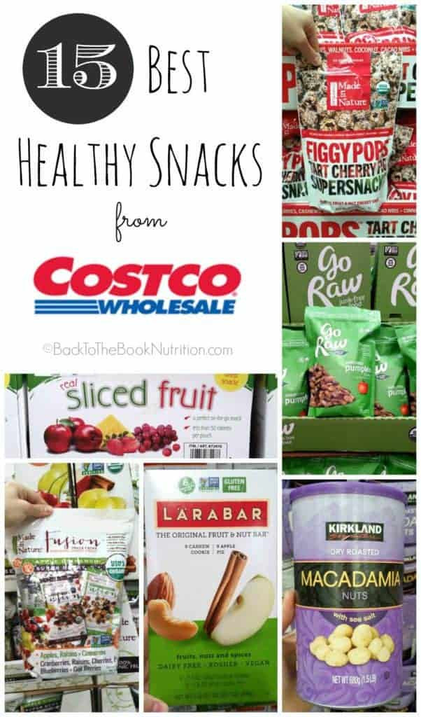 Healthy Packaged Snacks List  Best Healthy Snacks from Costco