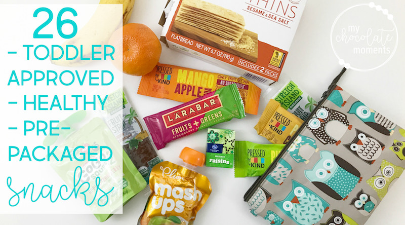Healthy Packaged Snacks List  26 toddler approved healthy pre packaged snacks