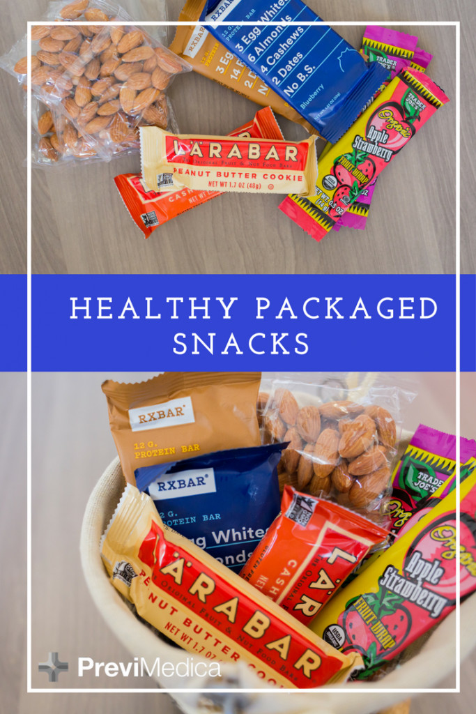 Healthy Packaged Snacks List  Healthy Packaged Snack Options
