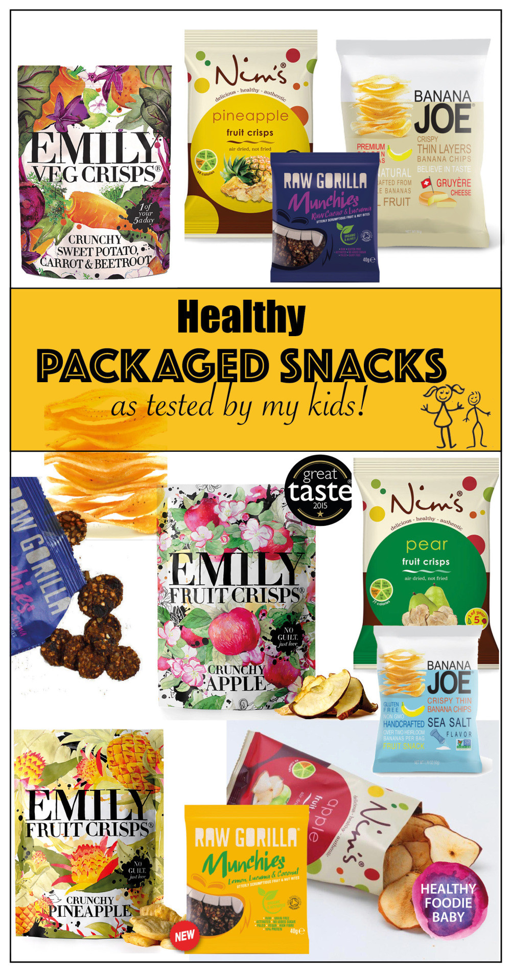Healthy Packaged Snacks List  More healthy packaged snacks for kids – Healthyfoo baby