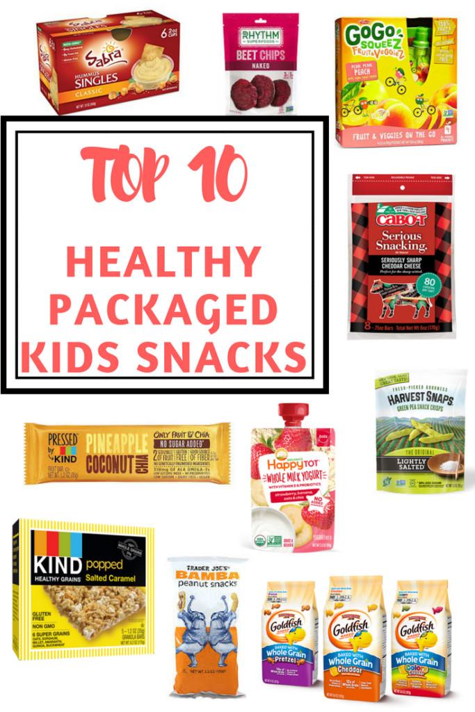 Healthy Packaged Snacks  Top 10 Healthy Packaged Kids Snacks Bite of Health Nutrition