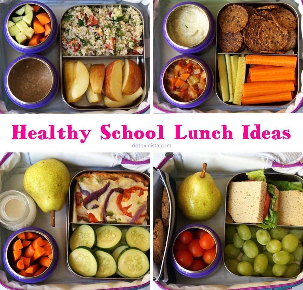 Healthy Packed Lunches For School  Healthy School Lunch Ideas