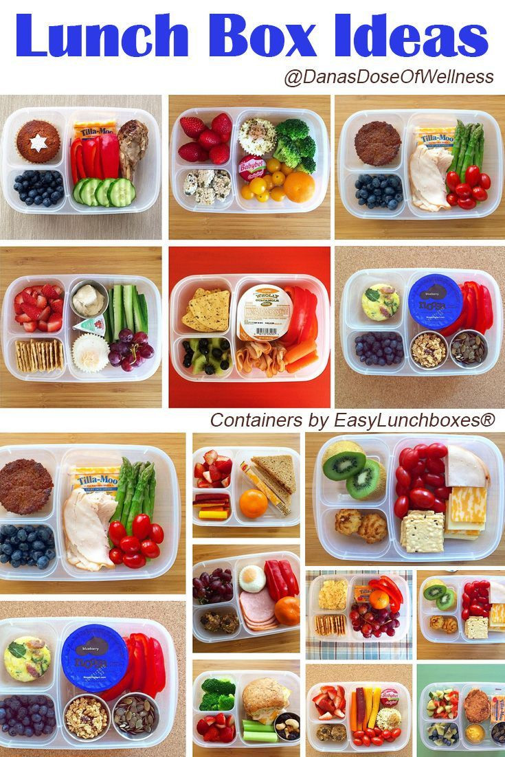 Healthy Packed Lunches For School  Loads of healthy lunch ideas for work or school packed in
