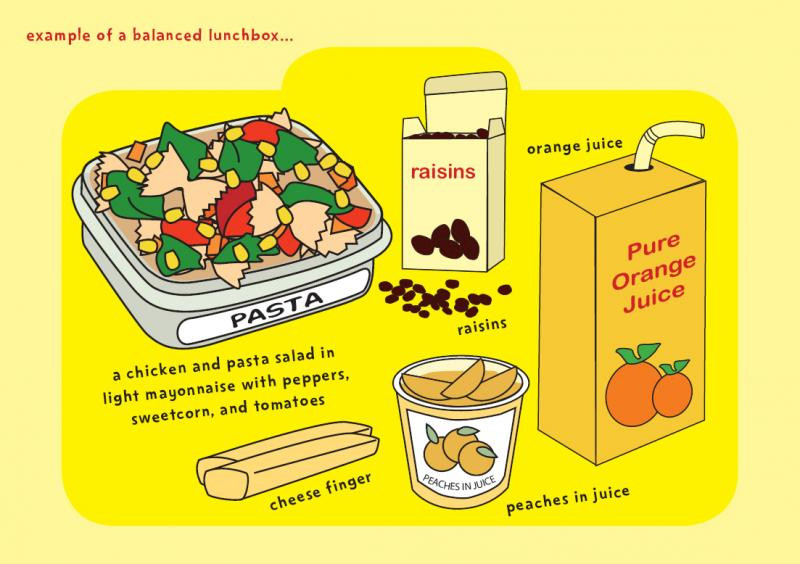 Healthy Packed Lunches For School  School Meals
